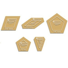 La Passacaglia Acrylic Templates (5 piece set)