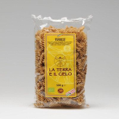 La Terra E Il Cielo Fusilli Whole Wheat 500g