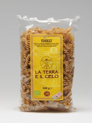 La Terra E Il Cielo Fusilli Whole Wheat 500g