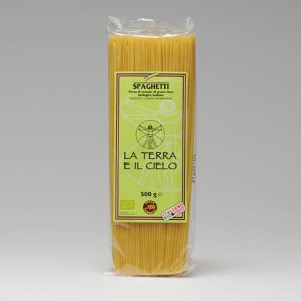 La Terra E Il Cielo Organic Spaghetti - 500g