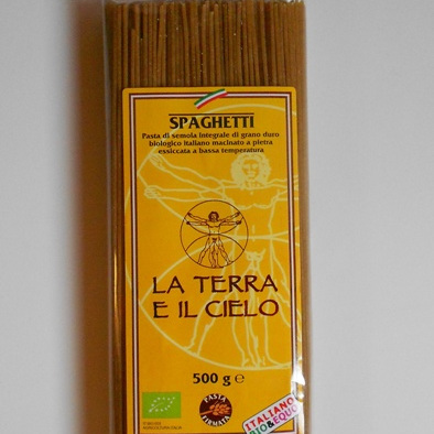 La Terra E Il Cielo Organic Spaghetti Whole Wheat 500g