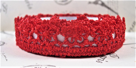 Lace Adhesive Tape Style A: Red