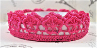 Lace Adhesive Tape Style A: Shocking Pink