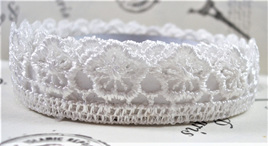Lace Adhesive Tape Style A: White