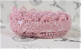 Lace Adhesive Tape Style B: Antique Rose Pink