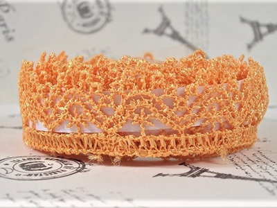 Lace Adhesive Tape Style B: Golden Orange
