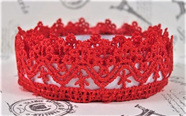 Lace Adhesive Tape Style B: Red