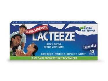 LACTEEZE Extra Strength 10tabs