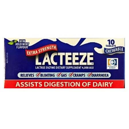 LACTEEZE EXTRA STRENGTH TABS 10