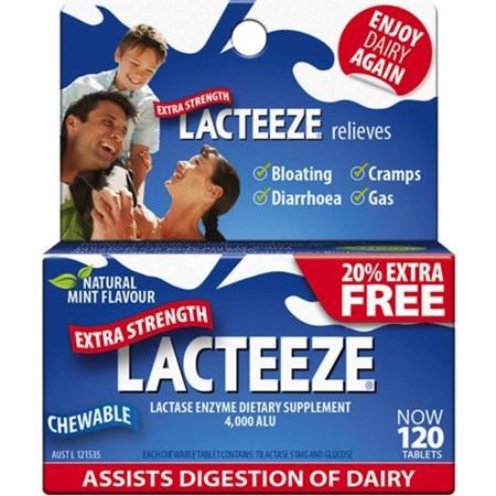 LACTEEZE TABS EXTRA STRENGTH TABS 120