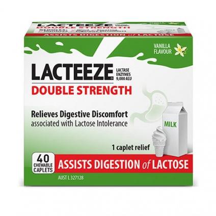Lacteeze Ultra Double Strength 40 Caplets