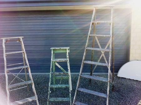 Ladder Rustic A Frame