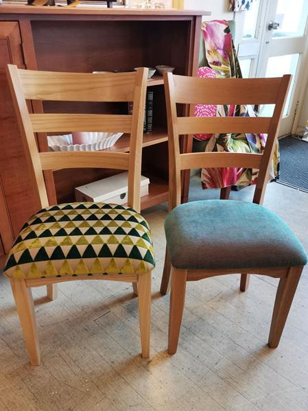Ladderback Chair Drop Top Rail - Ash & Oak