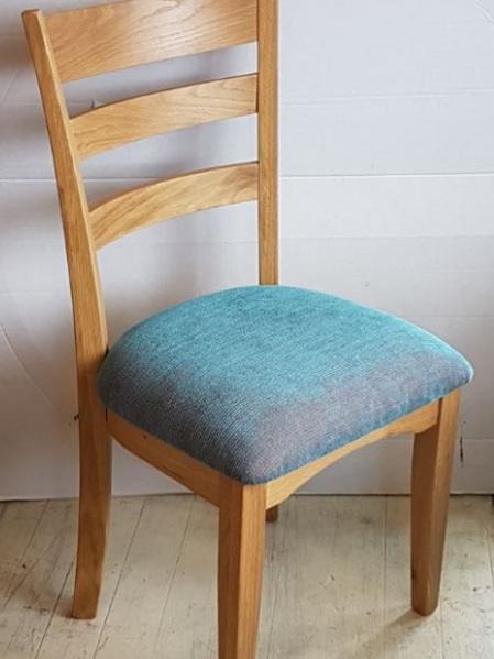 Ladderback Drop Top Rail Chair Oak