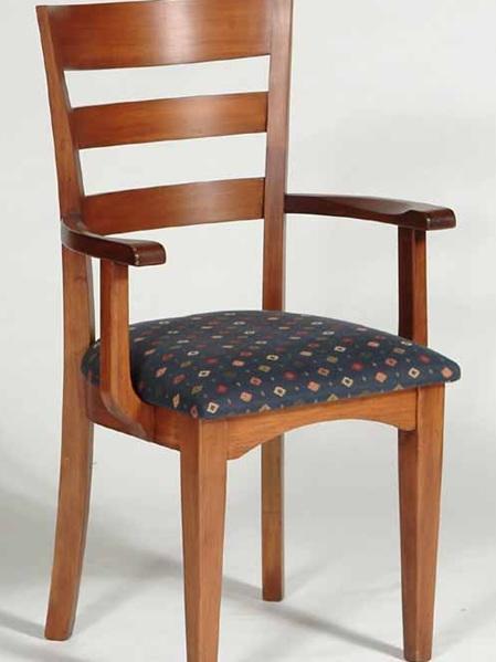 Ladderback Flush Top Carver Chair