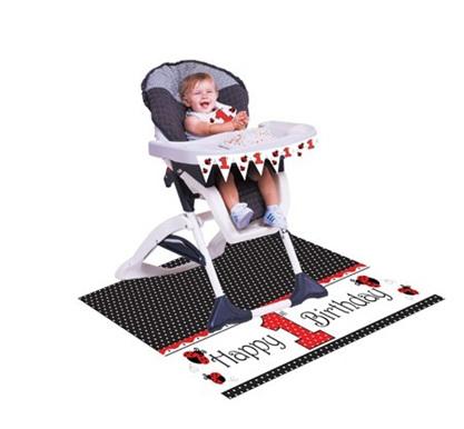 Lady bug Fancy High Chair Kit