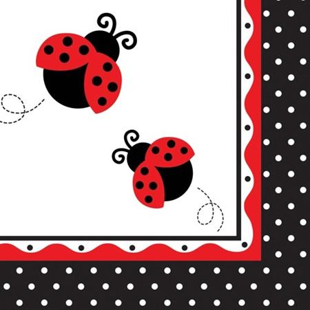 Lady bug Fancy Napkins