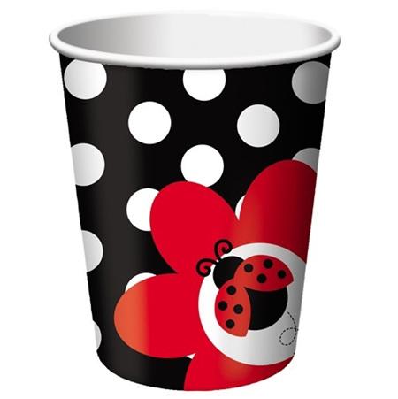 Lady Bug Fancy Paper Cups