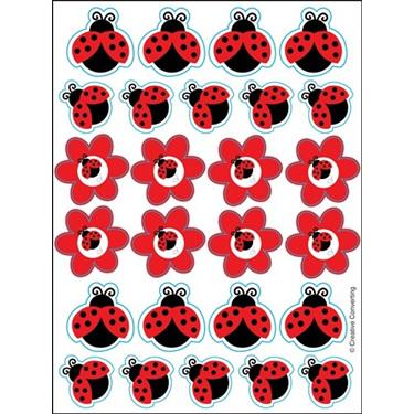 Lady bug Fancy Stickers
