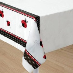Lady Bug Fancy Table Cover