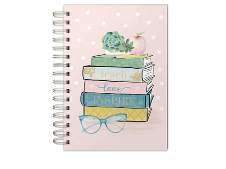 Lady Jayne Teacher Books Spiral Journal