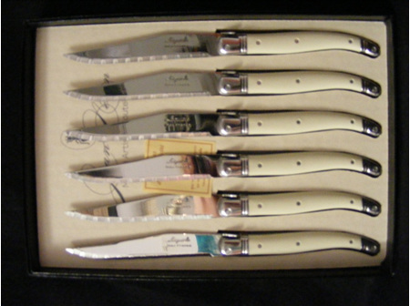 Laguiole Steak Knives Boxed Set 6