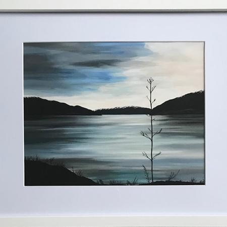 "Lake Hawea - 11 x 14"" Frame"