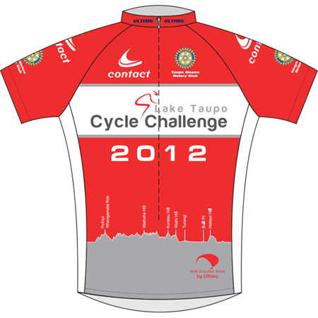 Lake Taupo Cycle Challenge 2012 Jersey