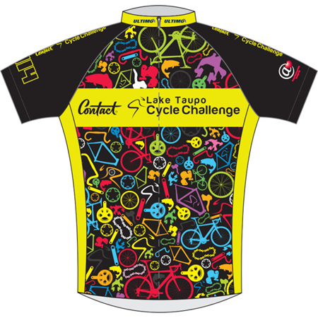 Lake Taupo Cycle Challenge 2014 Jersey