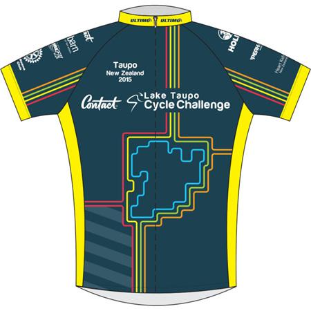 Lake Taupo Cycle Challenge 2015 Jersey