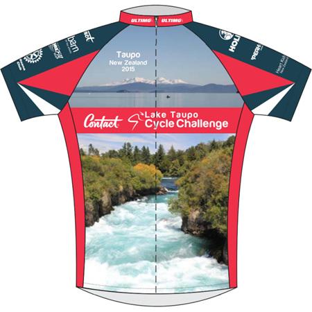 Lake Taupo Cycle Challenge 2015 Photo Jersey
