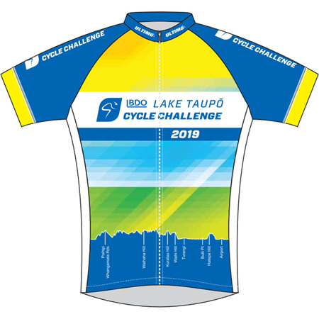 Lake Taupo Cycle Challenge 2019 Jersey