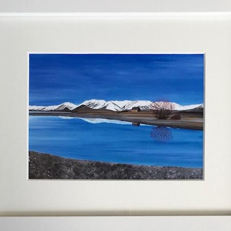 Lake Tekapo - medium frame