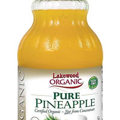 Lakewood Organic Pure Pinapple Juice 946ml
