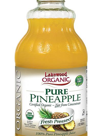 Lakewood Pure Pinapple Juice Organic 946ml
