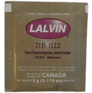Lalvin 71B-1122 Winemaking Yeast