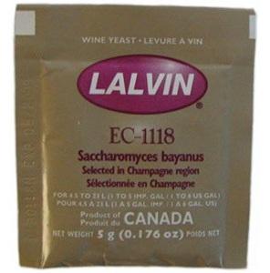 Lalvin EC-1118 Champagne & General Purpose Yeast 5g