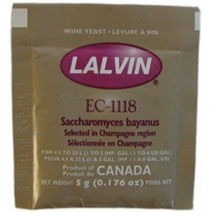 Lalvin EC-1118 Professional Champagne Yeast