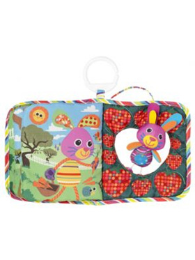 Lamaze Bella The bunny Hide and Seek Book - 6 Month+