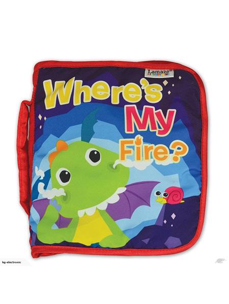 Lamaze Flip Flap Dragon Book -Where's my Fire