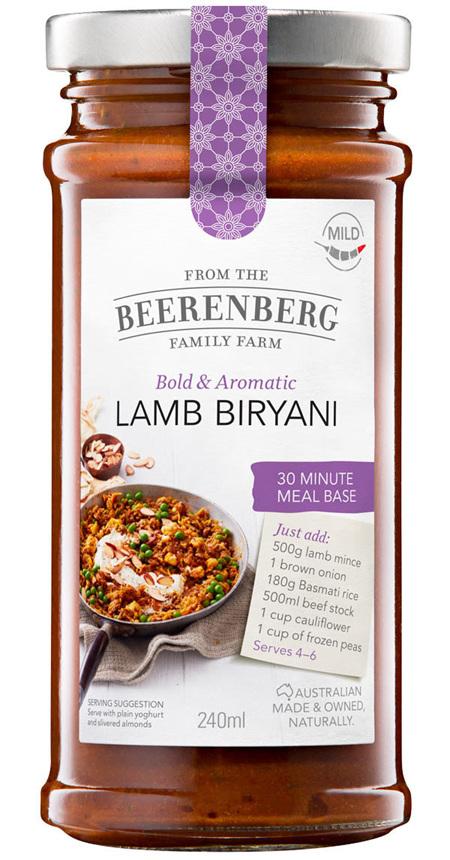 Lamb Biryani 30 Minute Meal Base - 240ml