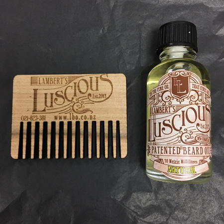 Lambert's Luscious Men's Beard Care Pack