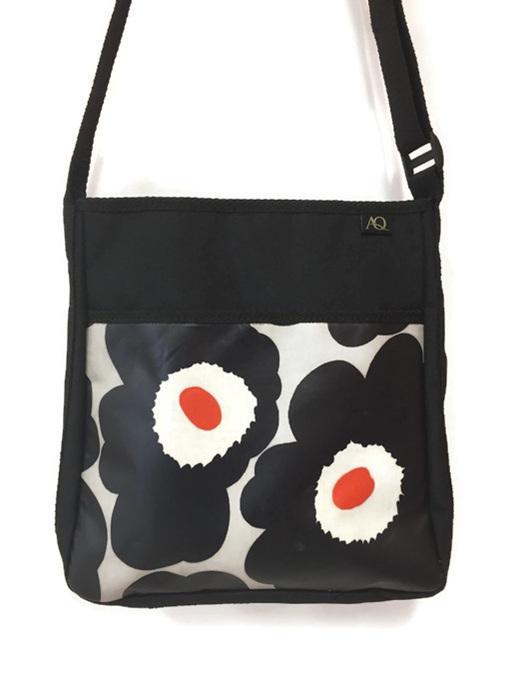 Laminated Marimekko fabric handbag