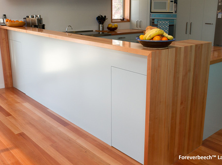 Laminated Timber Countertops