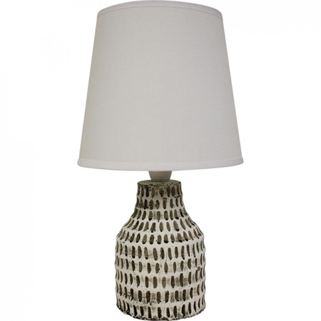 LAMP WHITE SANTORINI