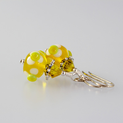 Lampwork Earrings
