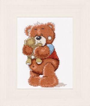 LAN15617A  Bolly the Bear Hugging