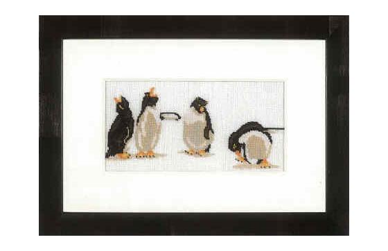 LAN35113   Quartet of Penguins