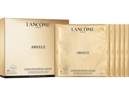 Lancome Absolue Golden Cream Mask x5
