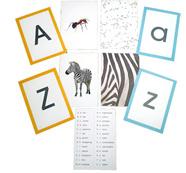 Lanky Hippo: Alphabet Flash Cards